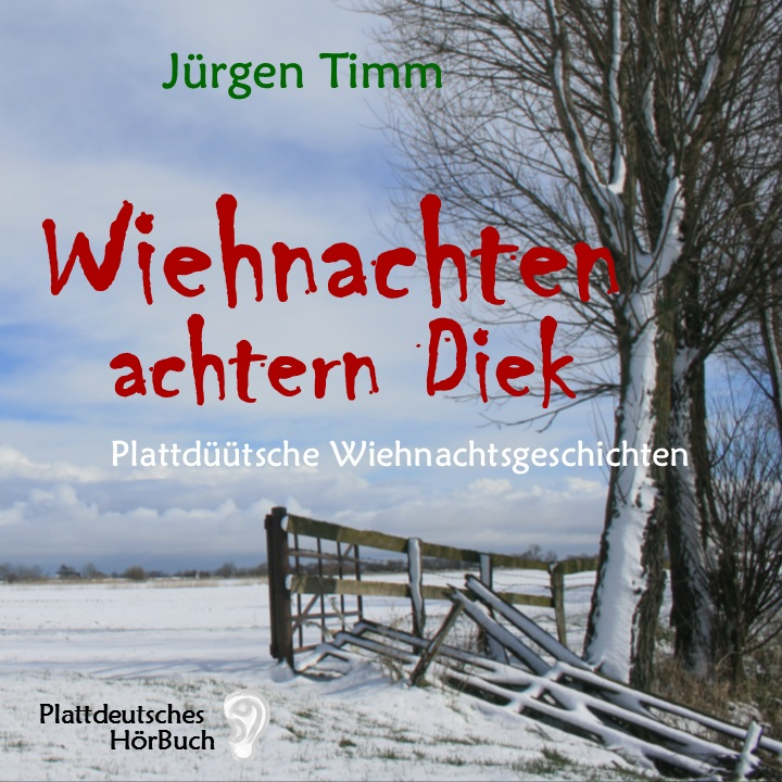 Cover Hörbuch Wiehnachten achtern Diek